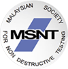 leading Malaysia society and membership body for NDT in Malaysia, the Malaysia Society for Non-Destructive Testing (MSNT)